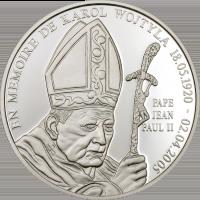 John Paul II Memoriam – Silver