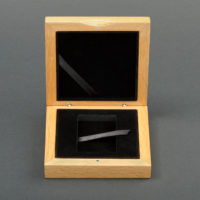 1-Coin Box for Vertical 34x54mm Capsule
