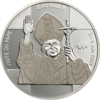 Visit of Pope John Paul II – Silver