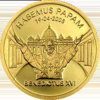 Benedict XVI Habemus Papam – Gold
