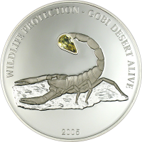 Scorpion – silver