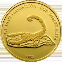 Scorpion – gold