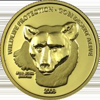 Gobi Bear – gold
