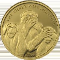 Monkeys – gold