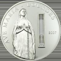 Lourdes coin