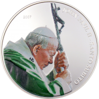 Pope John Paul II – green vestment