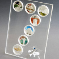 Acrylic Display for New 7 Wonders Collection