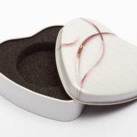 1-Coin Heart-shaped Box