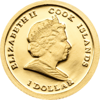 Martin Luther King – Gold 11mm