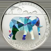 Elephant Cu ag