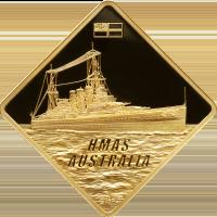 HMAS Australia – Gold