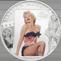 Marilyn Monroe – Cu ag-plated