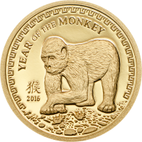 Year of the Monkey – Gold