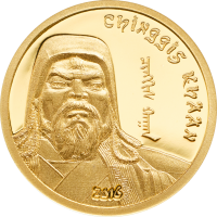 Chinggis Khaan 2016 Gold Edition
