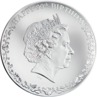 Happy 90th Birthday QEII 3oz
