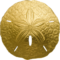 Golden Sand Dollar