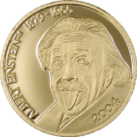 Albert Einstein – Gold