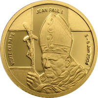 Visit of Pope John Paul II – Gold