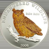 Eagle Owl Silver