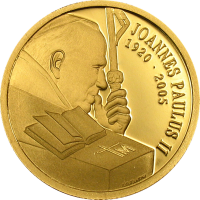 John Paul II Memoriam – Gold