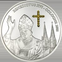 Benedict XVI Cologne – Silver