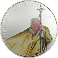Pope John Paul II – golden vestment