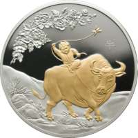 Lunar Year of Ox 5oz ag