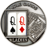 "Poker Holes Cards – ""Ladies"""