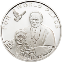 Mother Teresa – silver