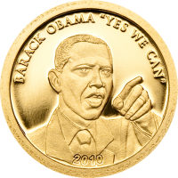 Barack Obama – Gold 11mm