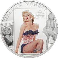 Marilyn Monroe – silver