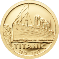 Titanic 1912-2012 Gold