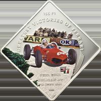 Ferrari 156 F1 – P. Hill