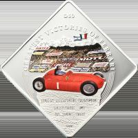 Ferrari D50 – J. M. Fangio
