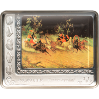 Fedoskino Miniature – Troika in Summer