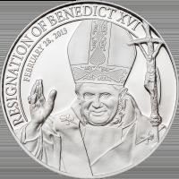 Resignation of Benedict XVI – Silver