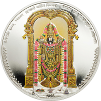 Lord Venkateswara 38.61 mm