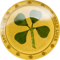 Clover in Gold