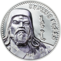 Chinggis Khaan 2016 Silver Edition