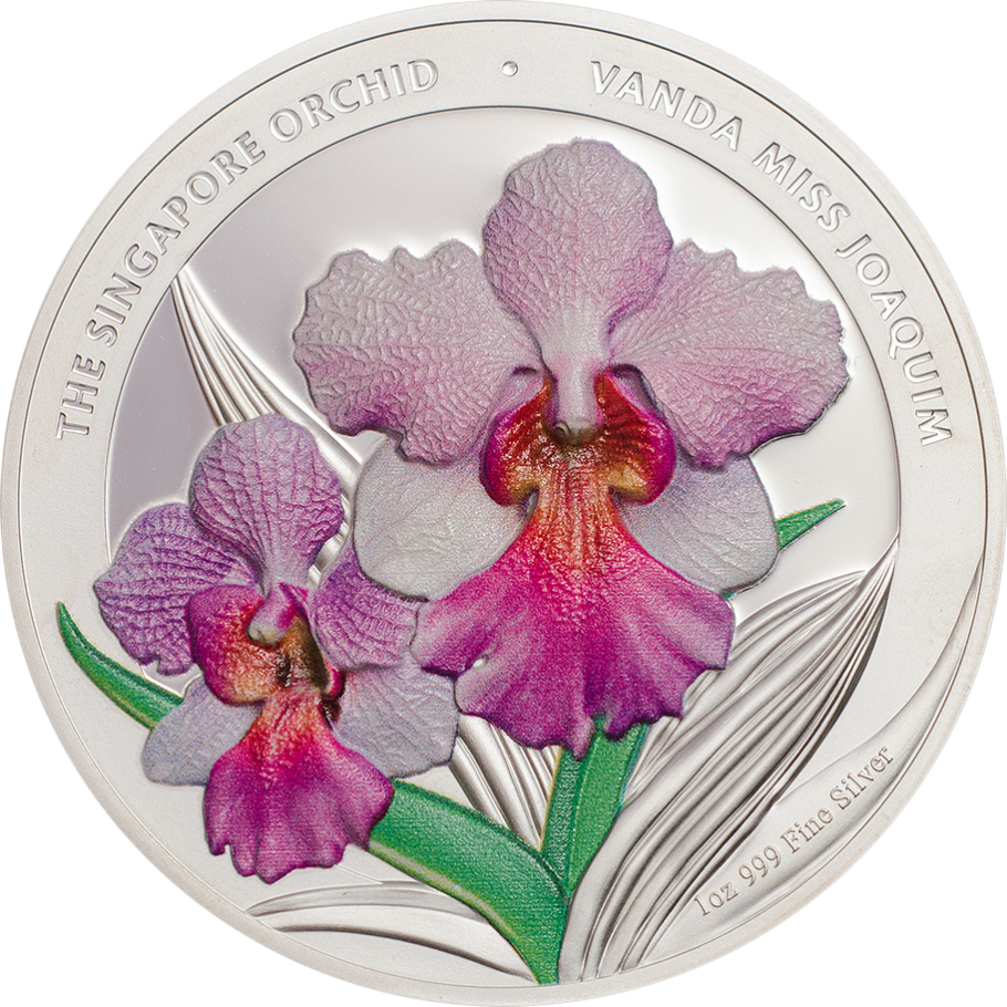 The Singapore Orchid Miss Joaquim Cit Coin Invest Ag