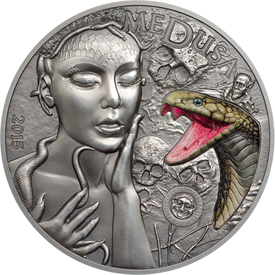 Medusa Mythical Creatures Cit Coin Invest Ag
