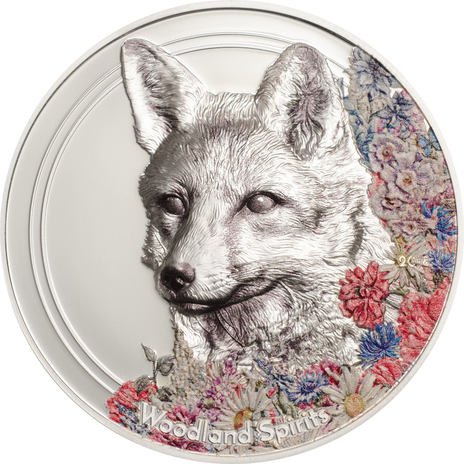 Woodland Spirits Fox new coin series by CIT Coin Invest AG with smartminting high relief and fine silver