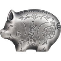 Jolly Silver Pig
