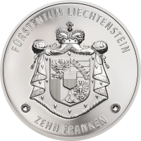 300 Years Liechtenstein 10.-