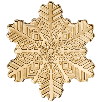 Golden Snowflake