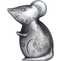 Witty Silver Mouse