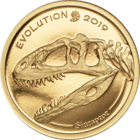 Evolution of Life – Golden Sinraptor